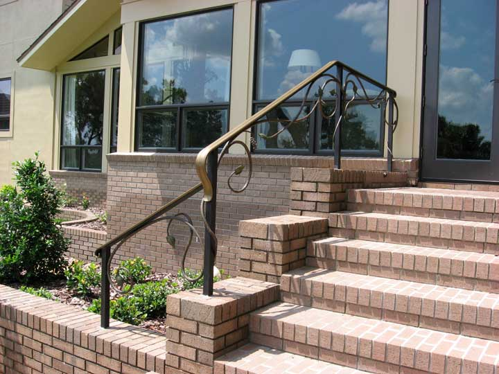 Outdoor Metal Railings For Steps to Pin on